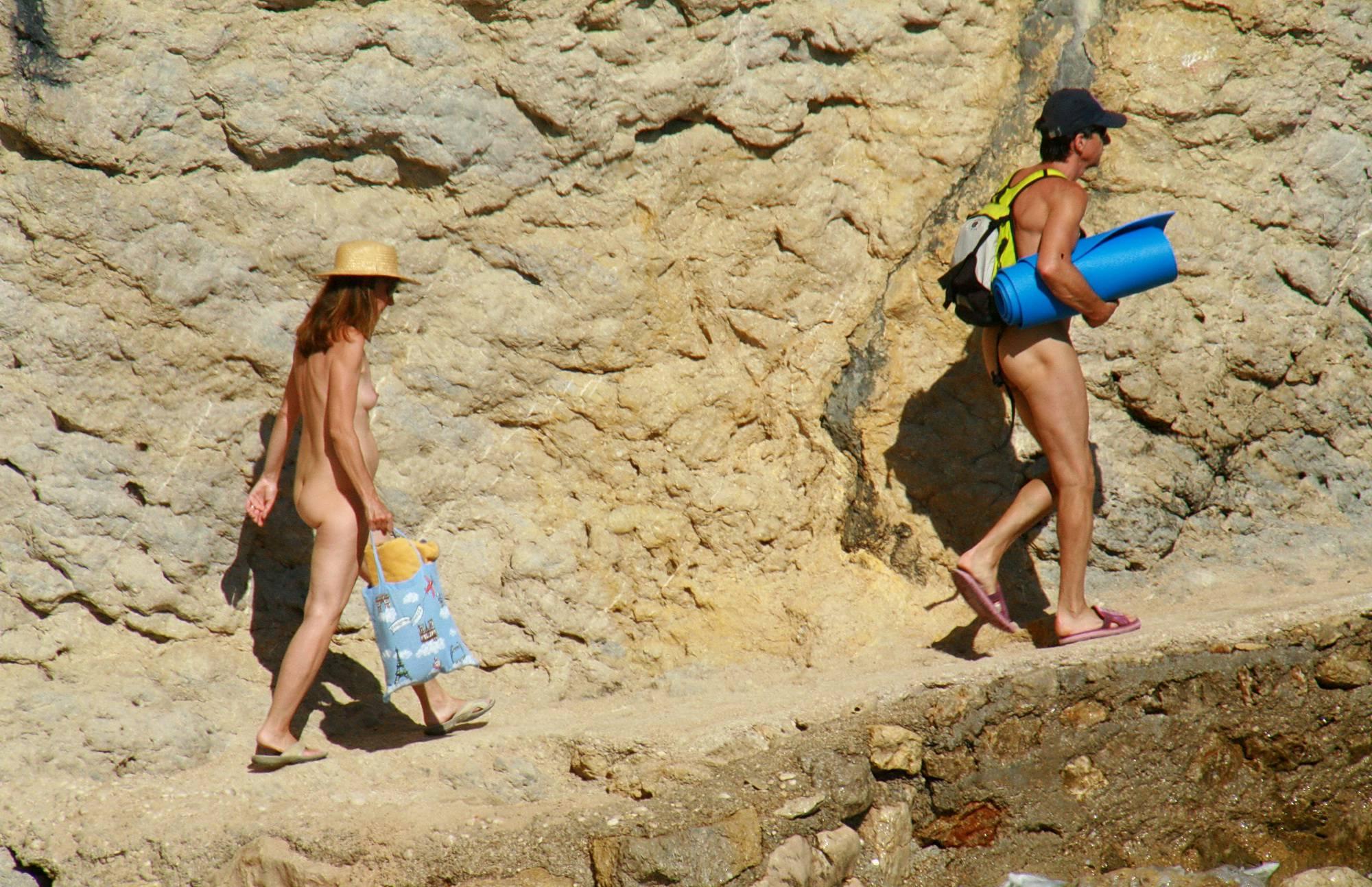Nudist Mountain Climbers - 1