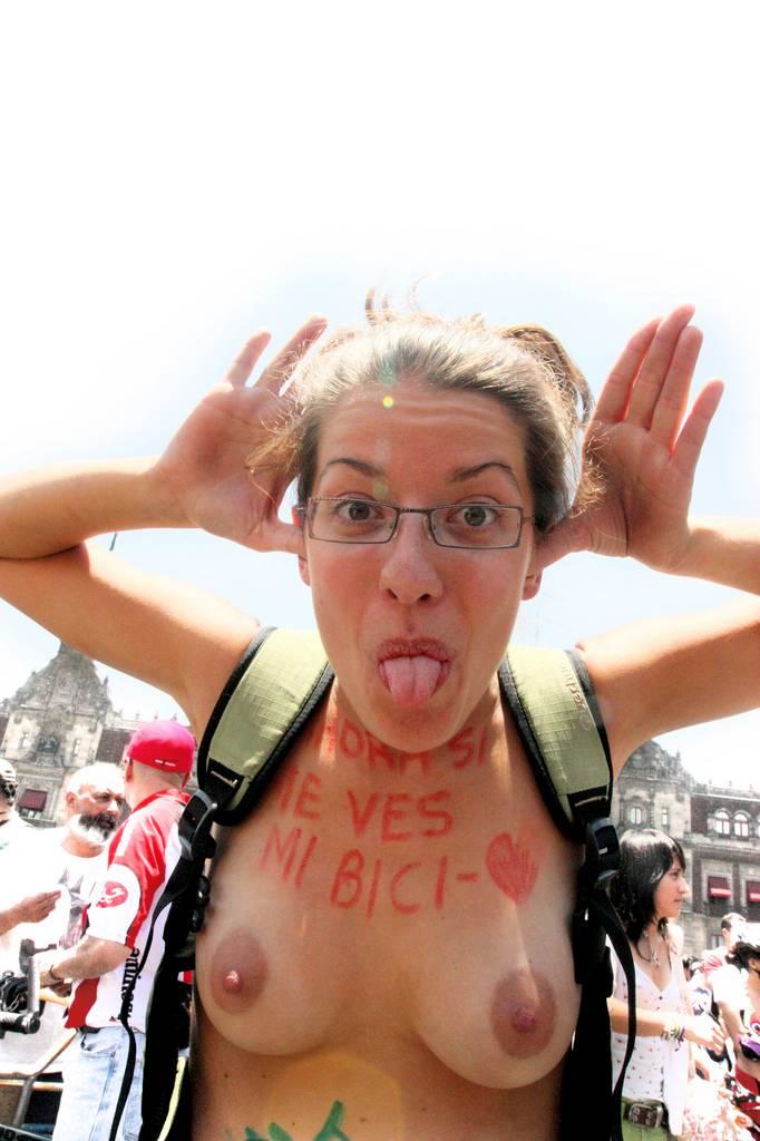 Nudist Photos World Naked Bike Ride (WNBR) 2009 - 2