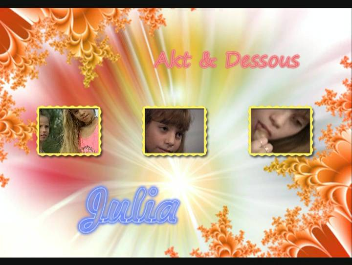 Naturist Videos Julia Akt and Dessous - Poster