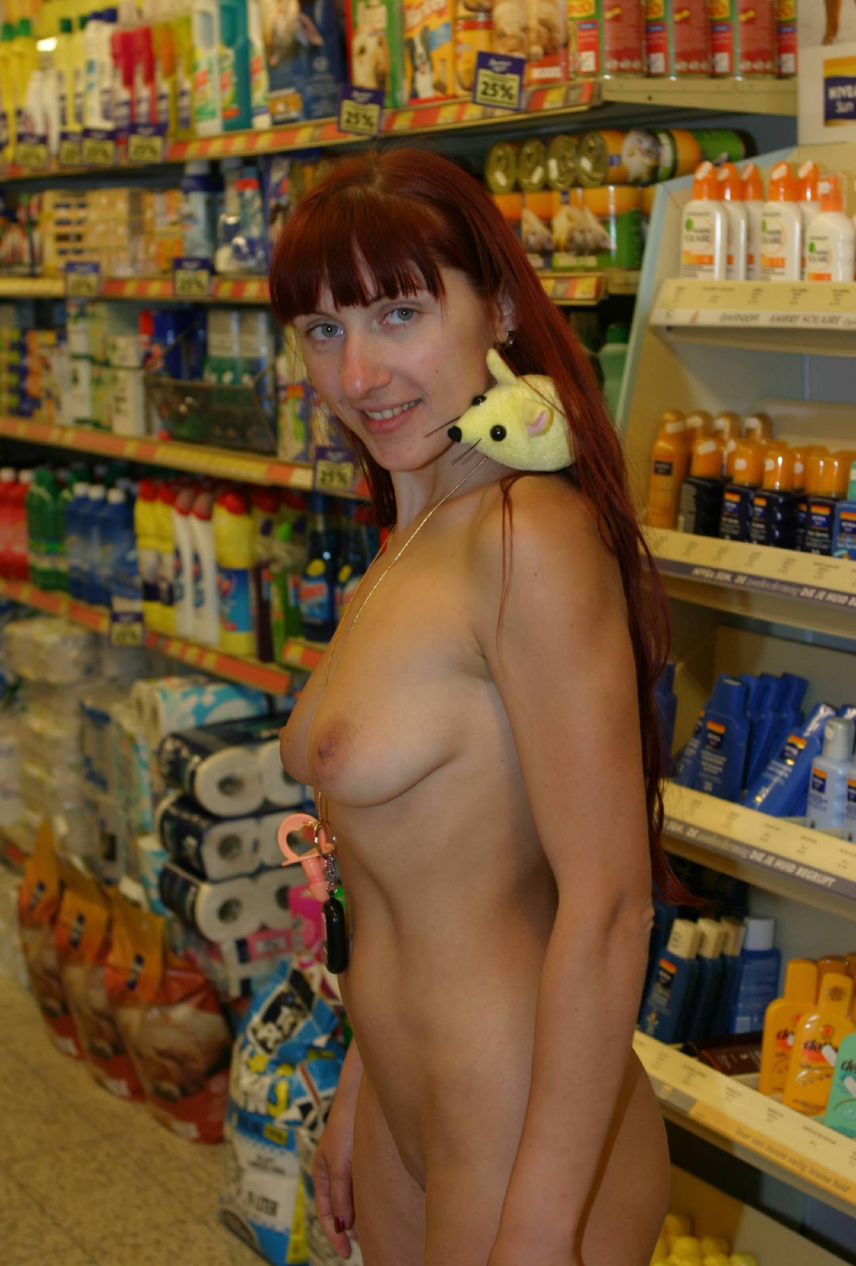 Nudist Photos Holland Store Shopping - 1
