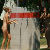 Nude Duet Friend Shower
