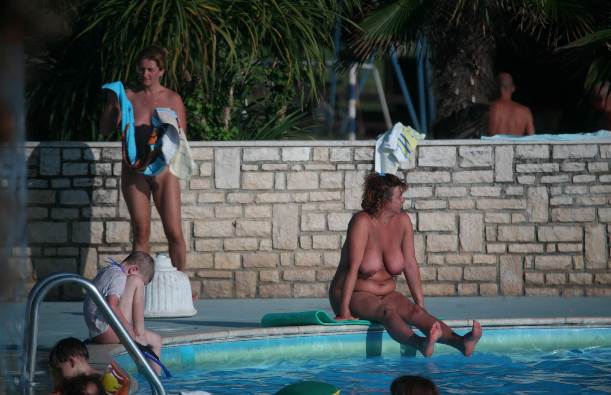 Our Outdoor Pool Activity - 1