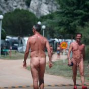 Packup and Nudists Leaving
