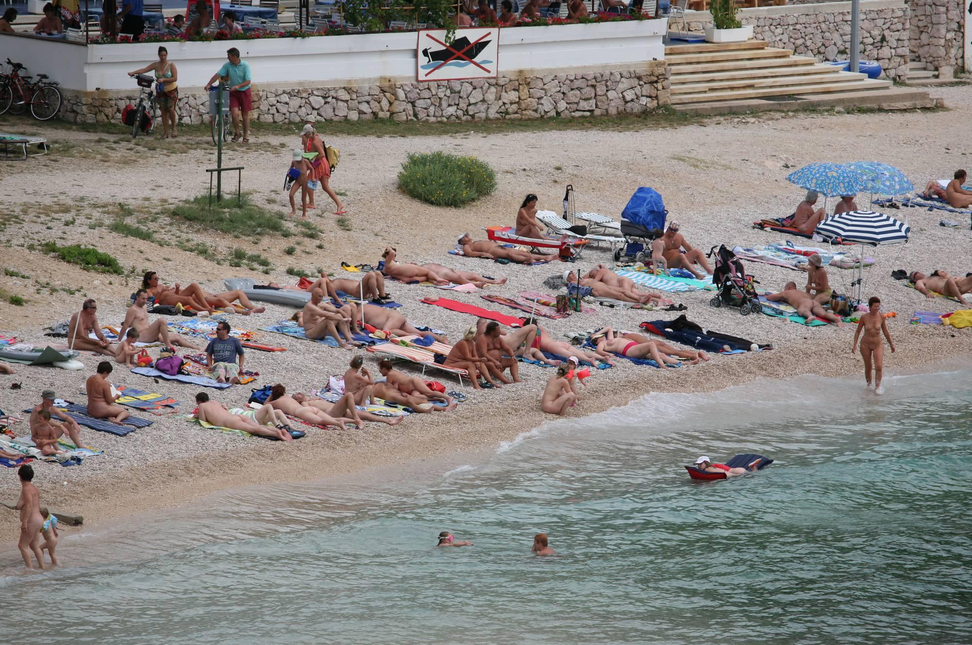 Nudist Photos Wide Maslin Beach View - 1
