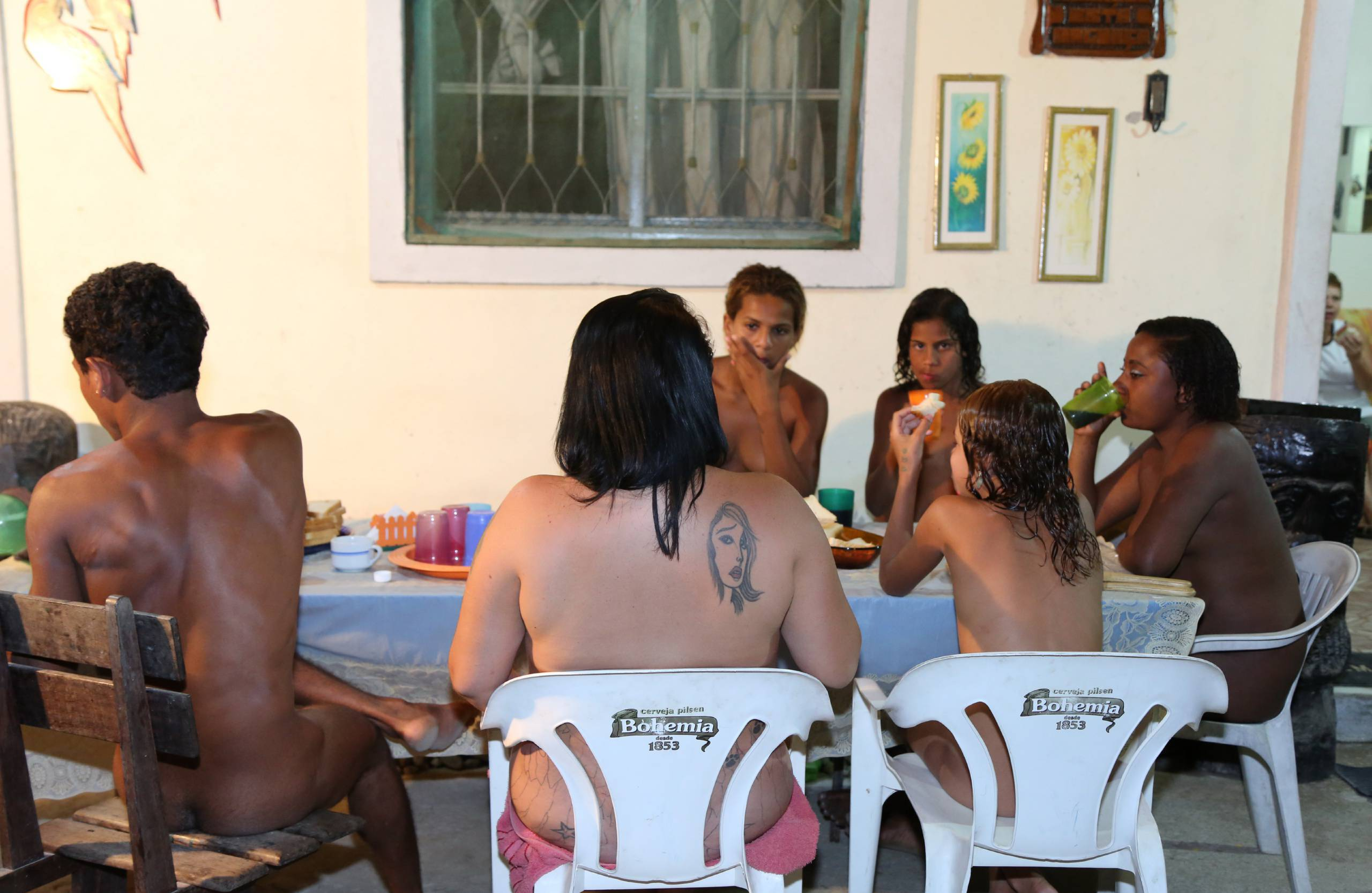 Nudist Photos A Family Gathering - 2