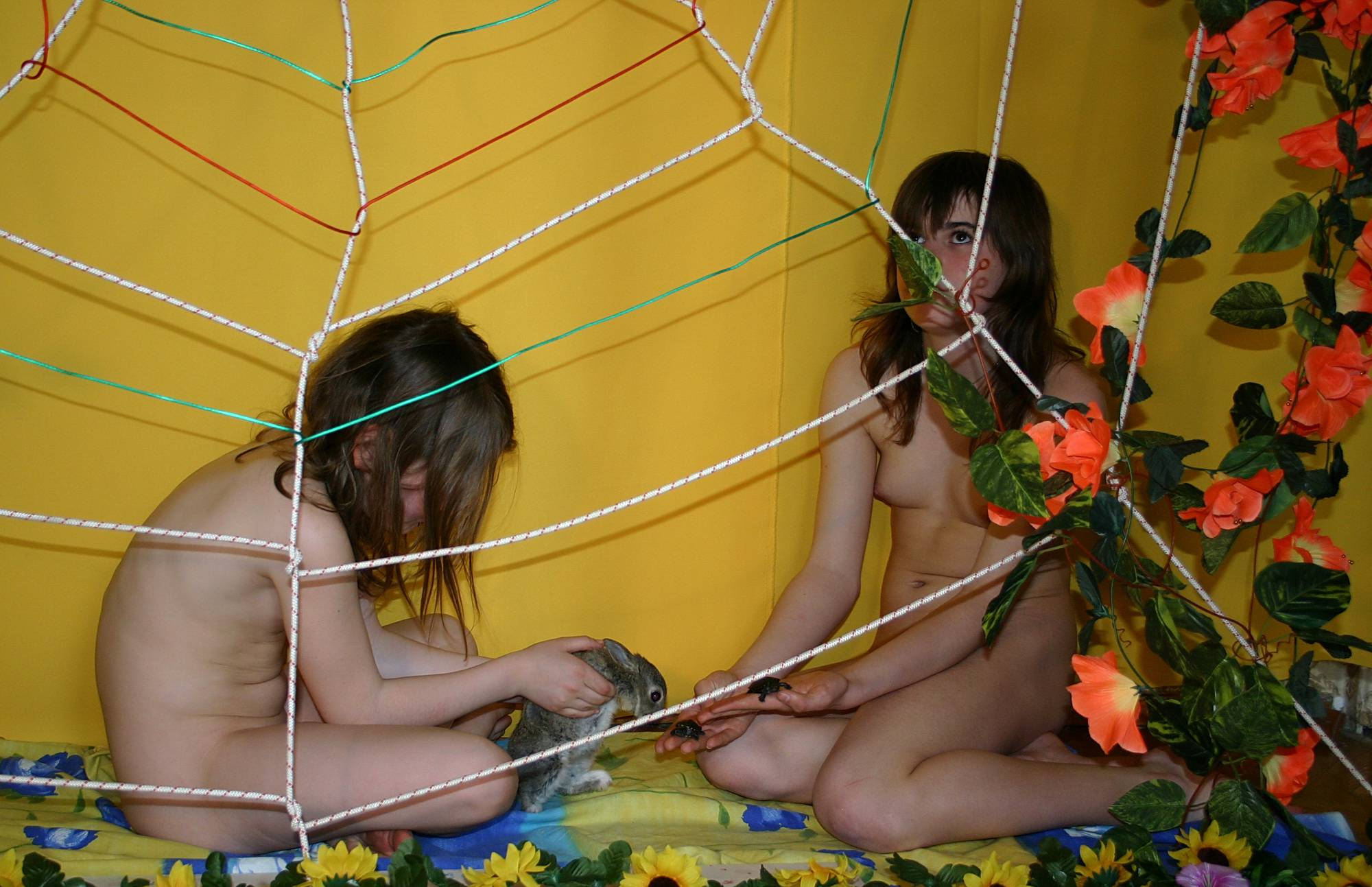 Nudist Gallery In and Out of Spiders Webs - 2