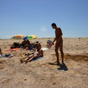 Naturist Beach Sand Kings
