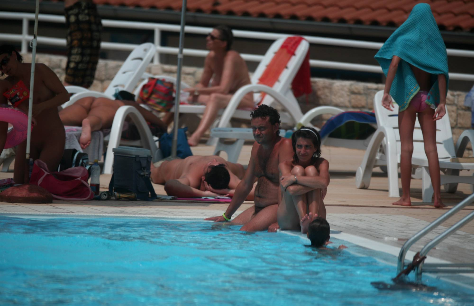 Naturist Pool Youngsters - 2