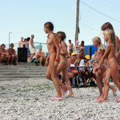Nude Contestant Walk-Off