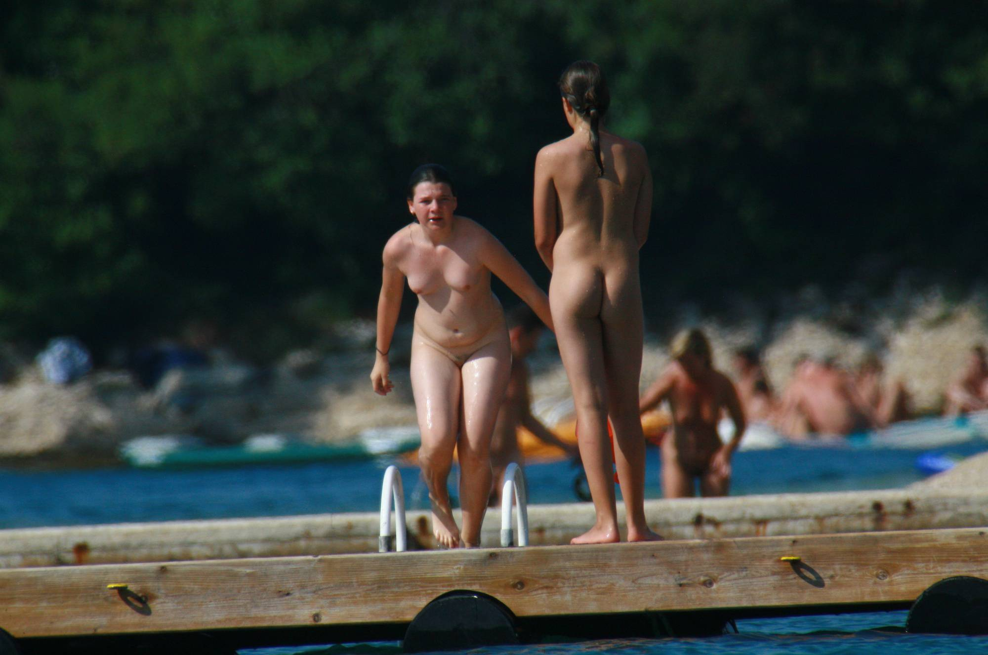 Nudist Pictures Wooden Island Freedom - 2