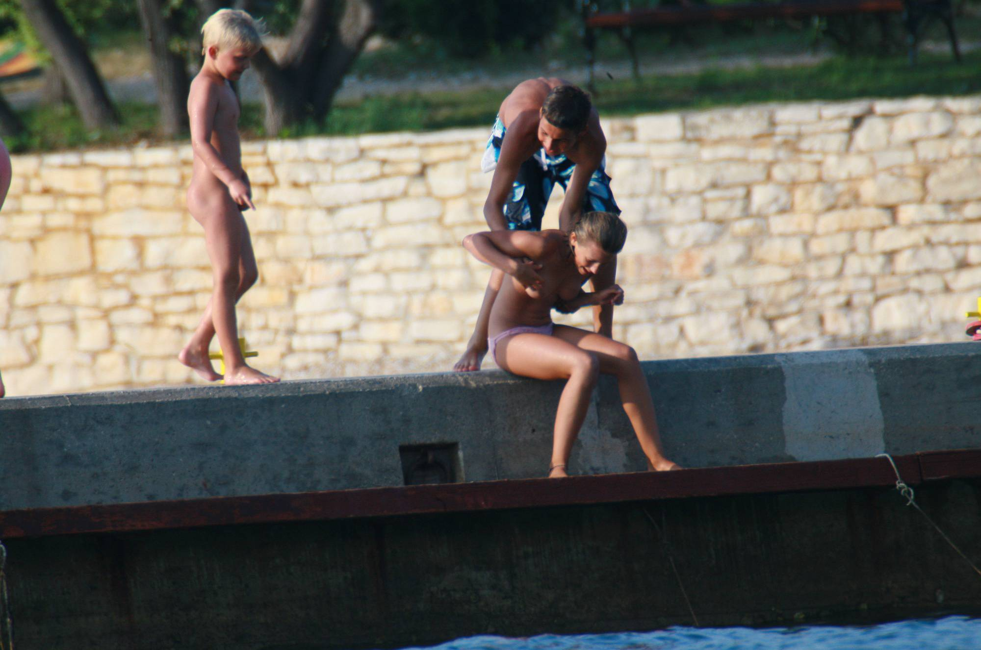Young Naturist Friends - 2