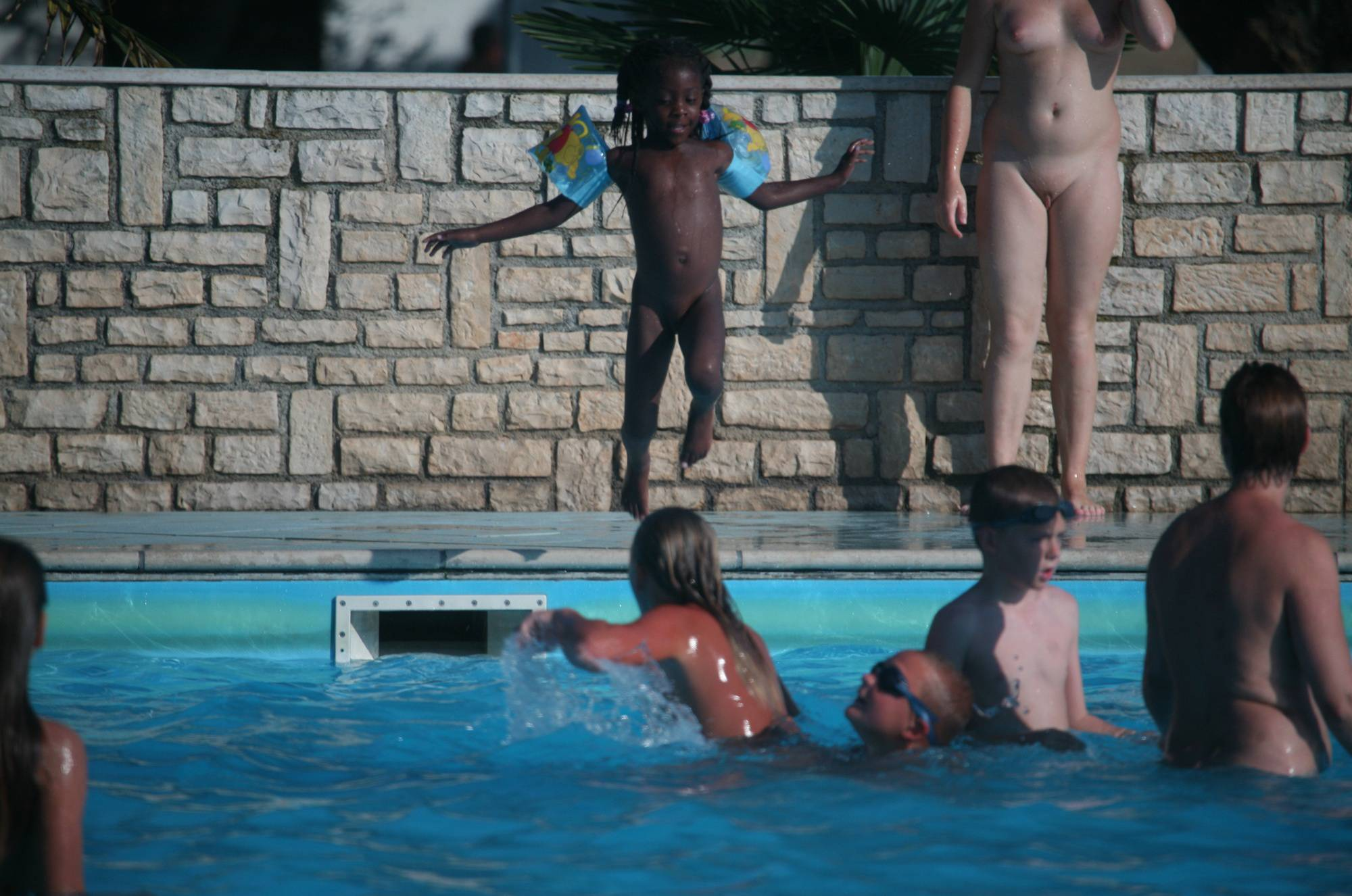 Nudist Pool Jumpers Two - 1