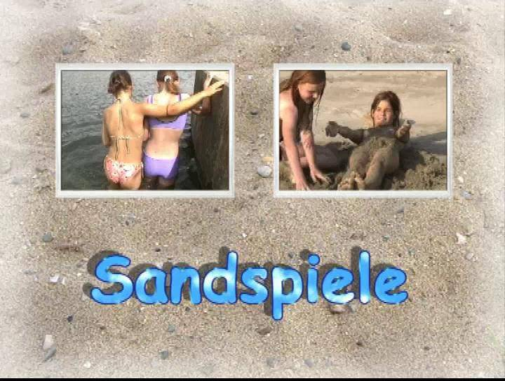 FKK Videos Sandspiele - Poster