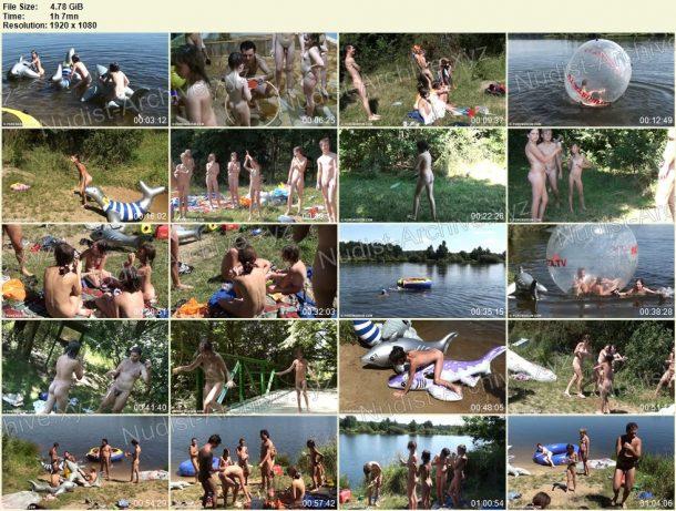 Nude and Hot Summer Day film stills 1