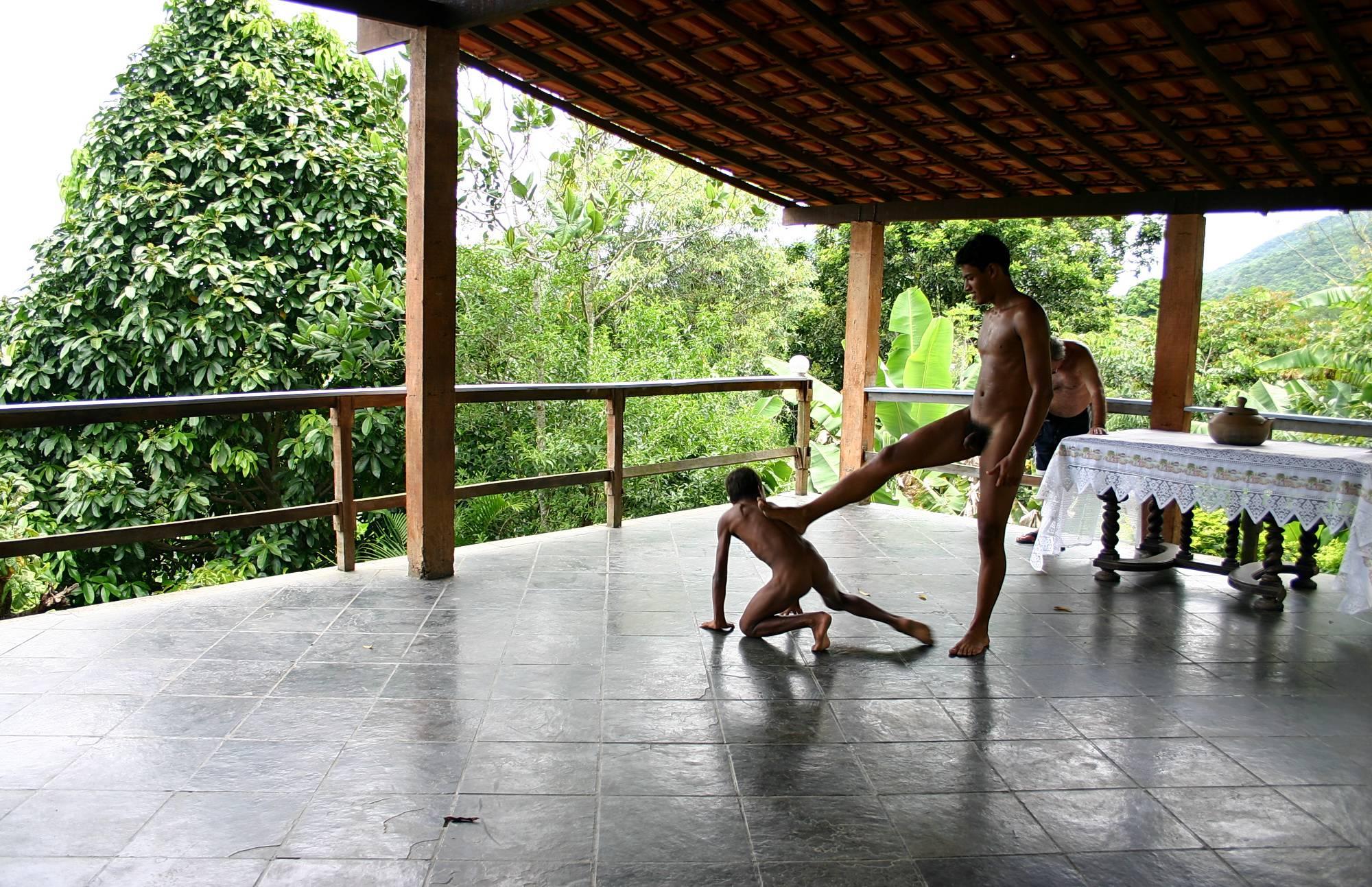 Nudist Gallery Sheds Dance Partnership - 1