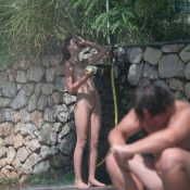 Shower-Wall FKK Sister