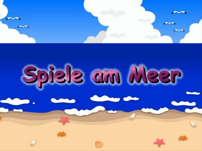 Nudist Movies Spiele am Meer - Poster