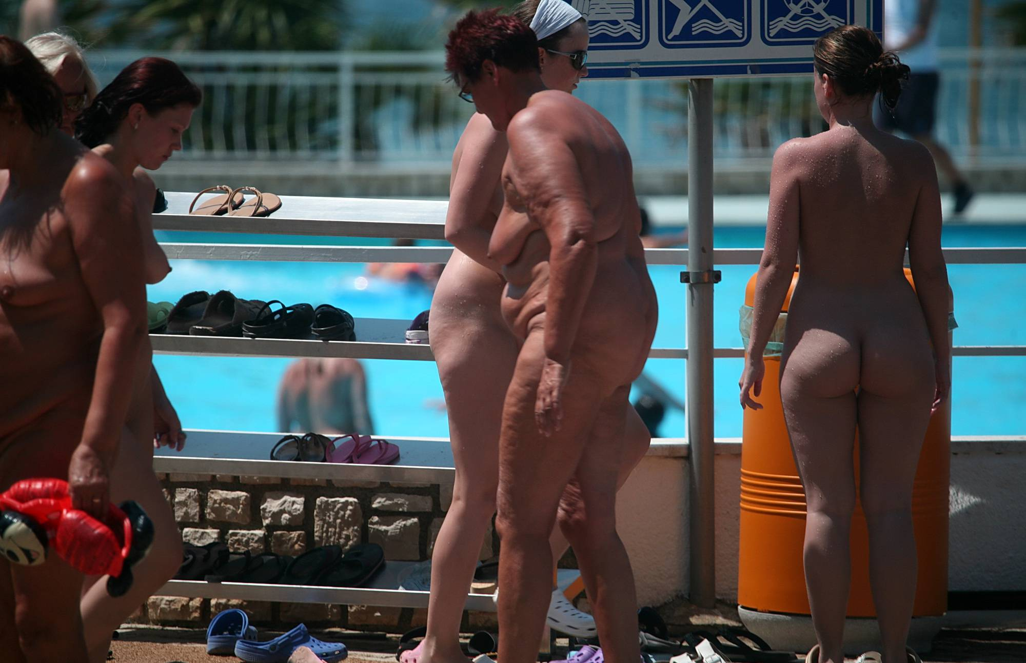 Nudist Gallery Sun-Soaked Sidewalk - 2