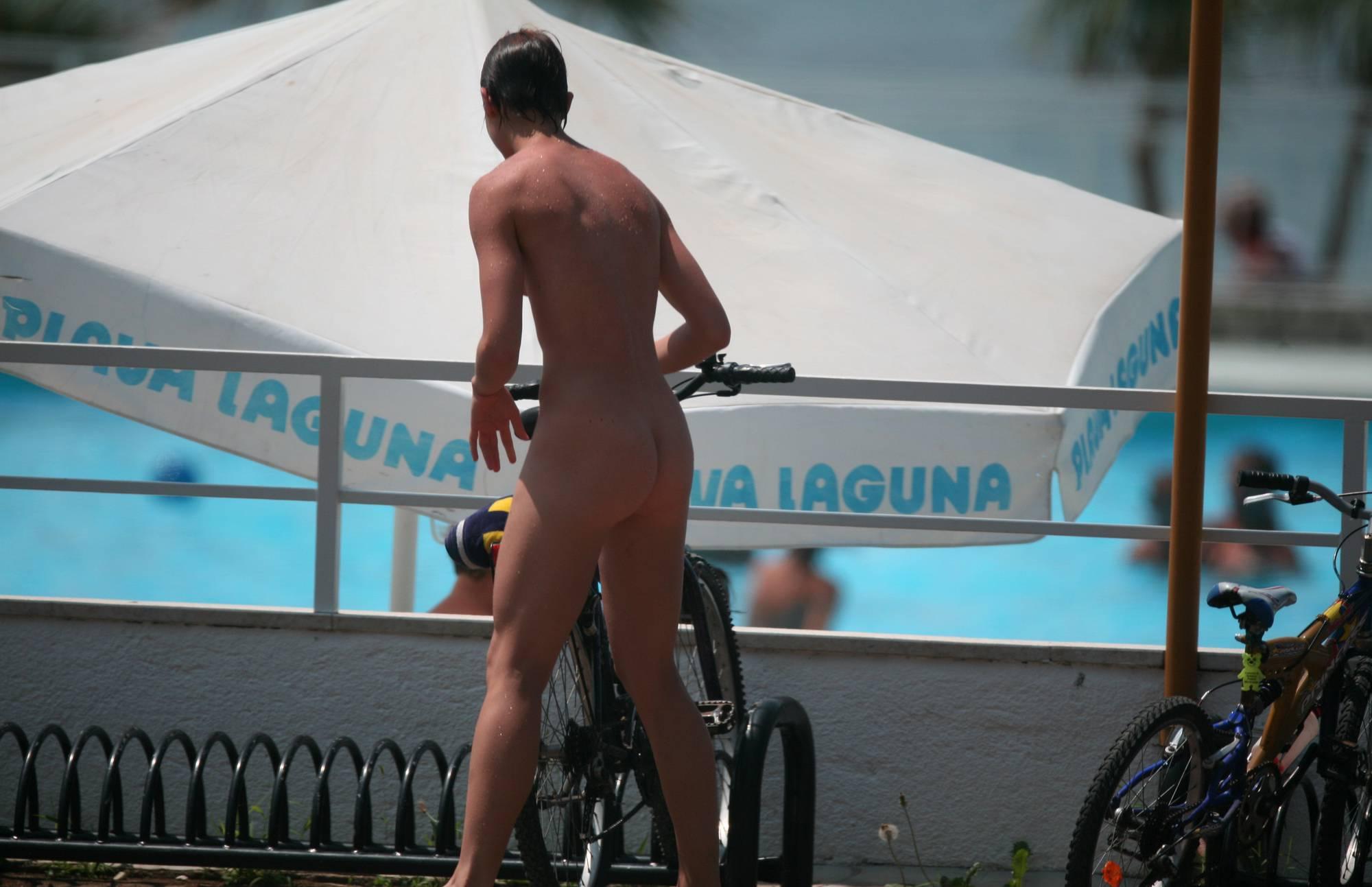 Nudist Photos Teenage Nudist Biking Off - 1
