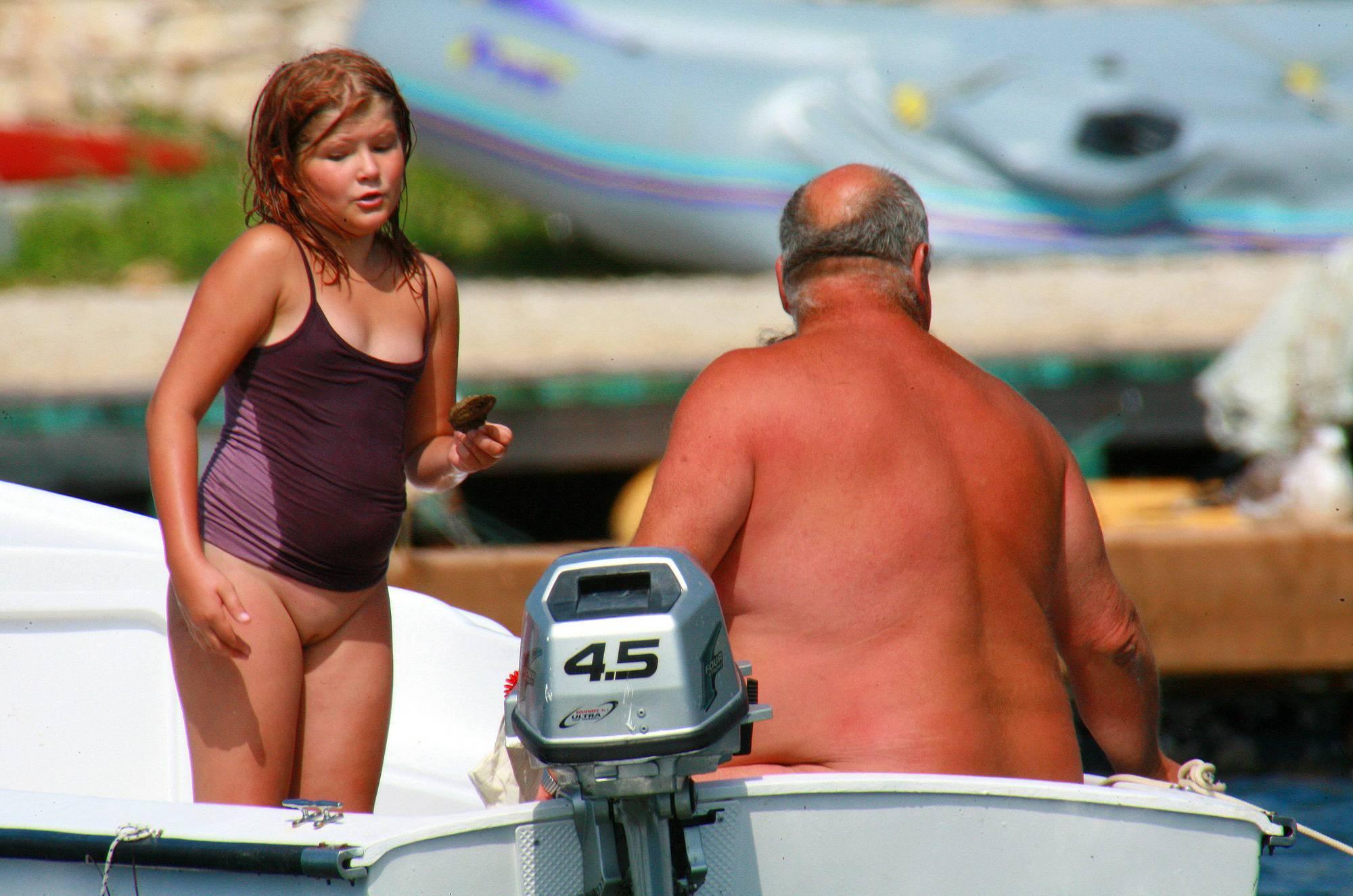 Nudist Gallery Uka FKK In-Water Boating - 1
