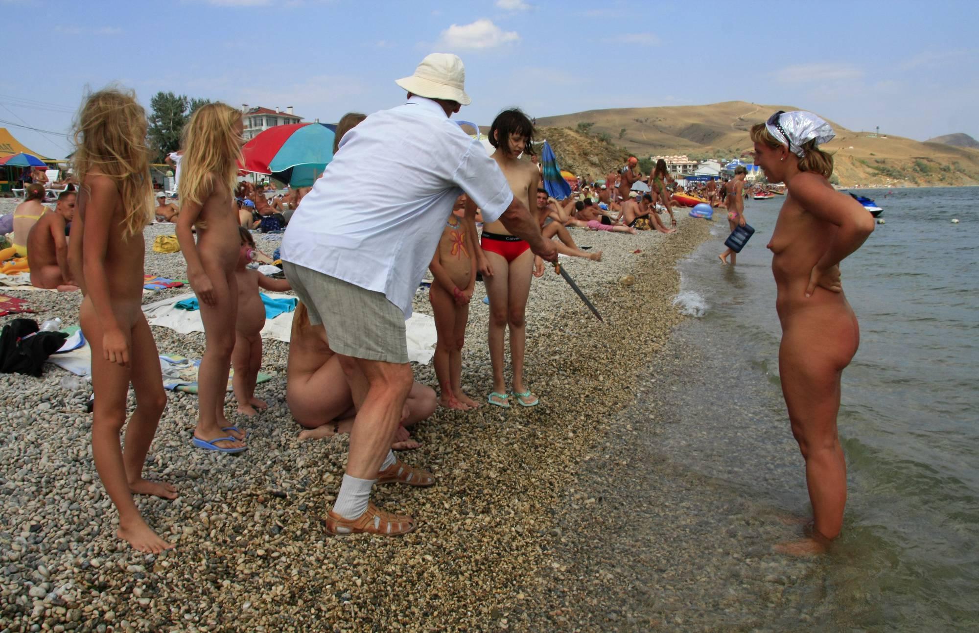 Ukrainian Water Splashing - 1