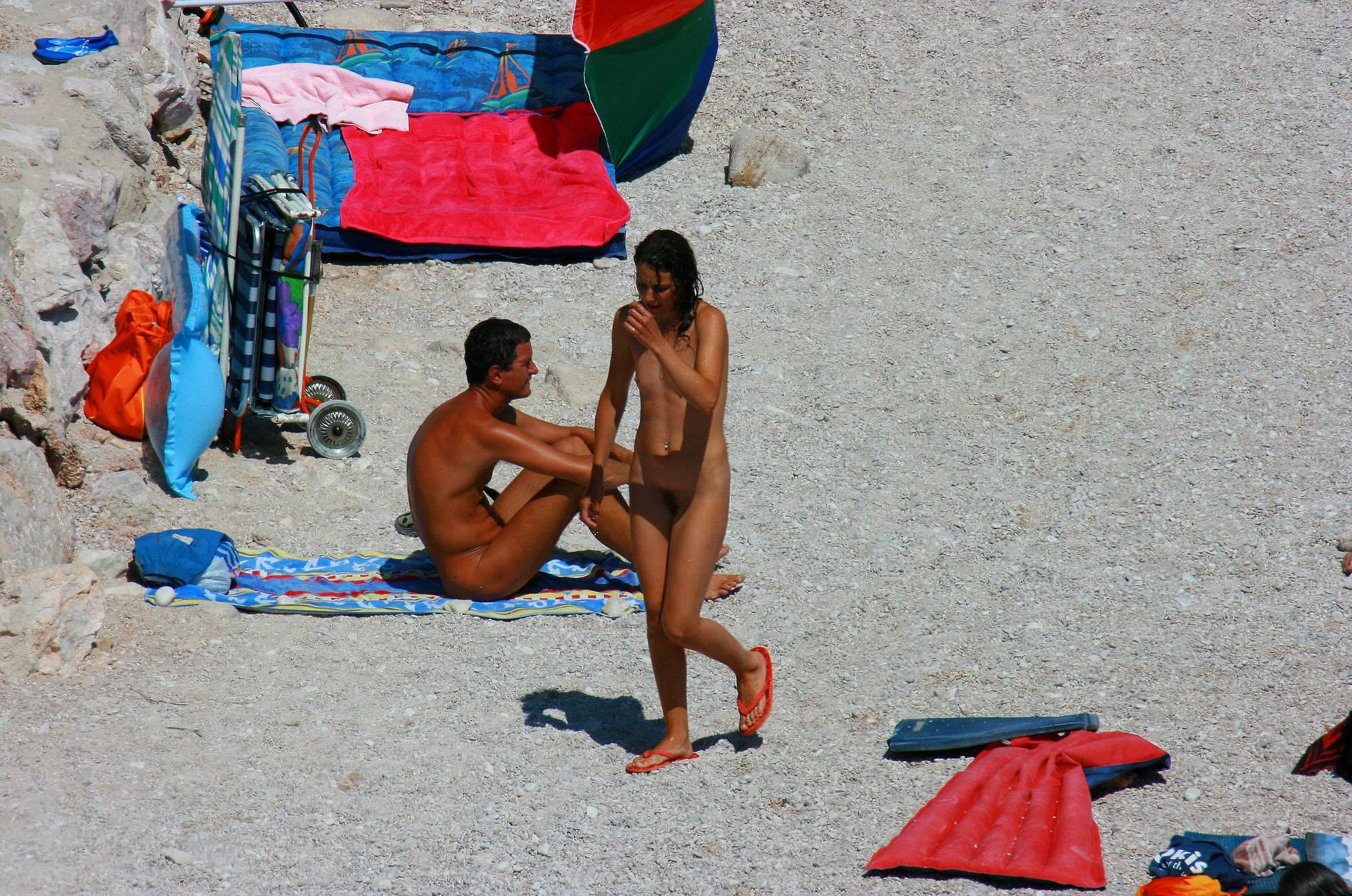 Nudist Gallery Ula FKK Beach Sand Pass - 1