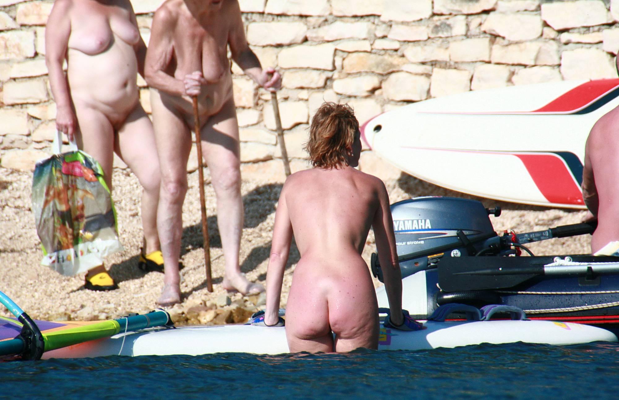 Nudist Gallery Wind Surfing Afternoon - 1