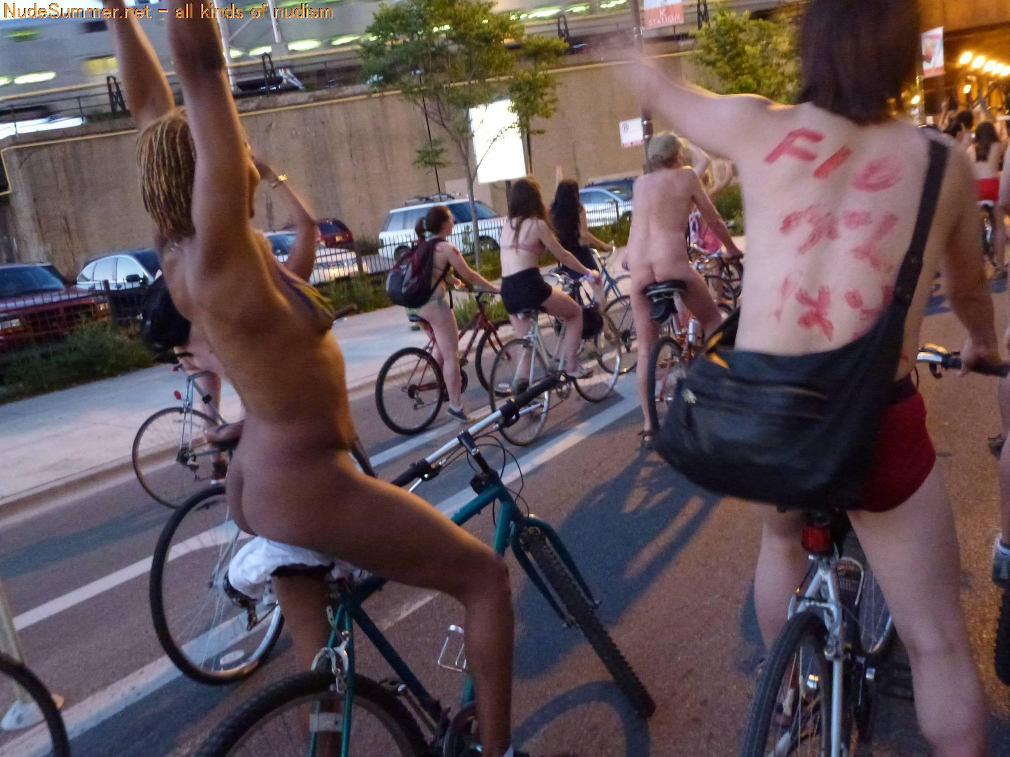 World Naked Bike Ride (WNBR) 2012 Part 1 - 1