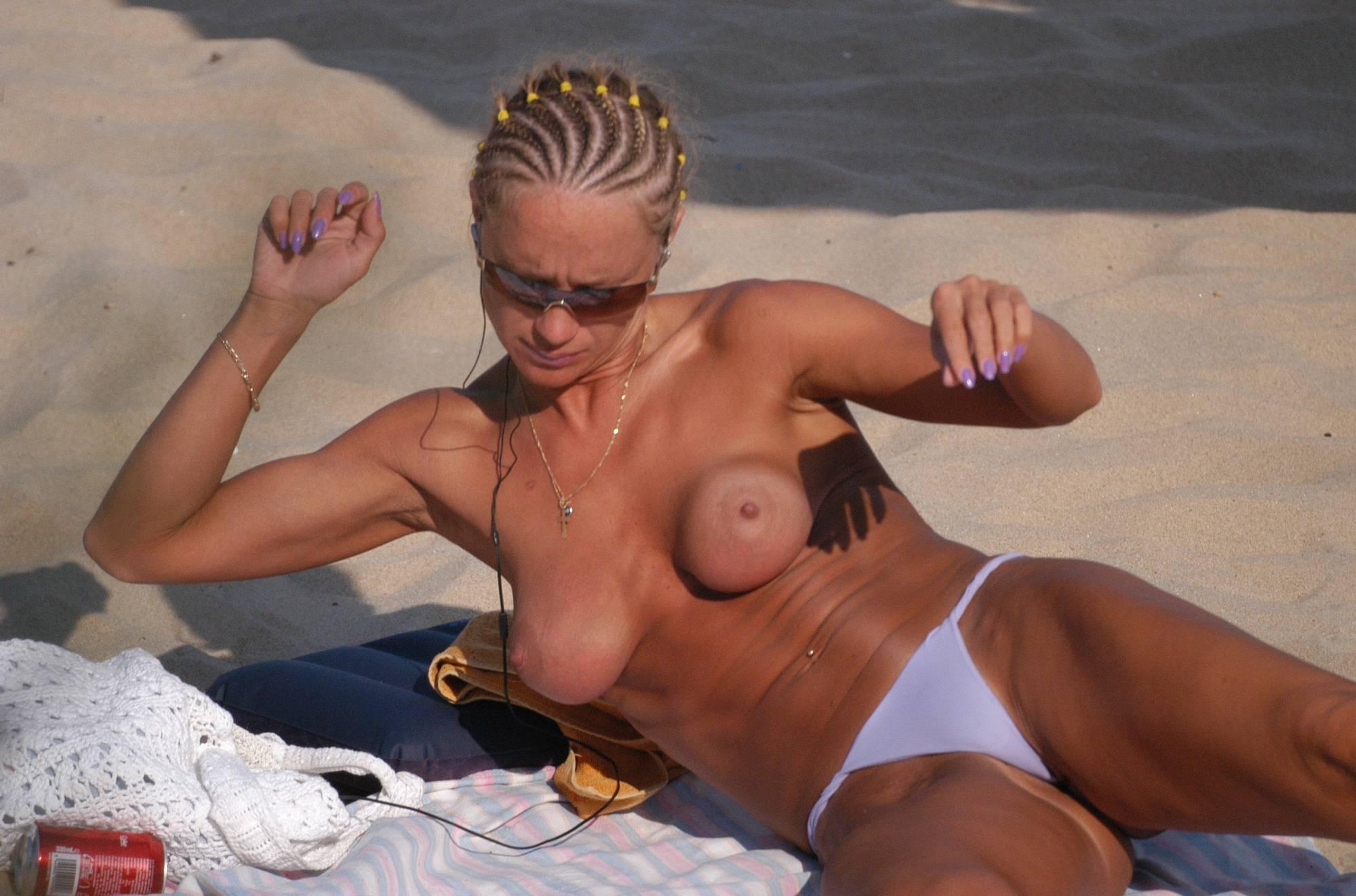 Zlote Beach Sunbathers - 1